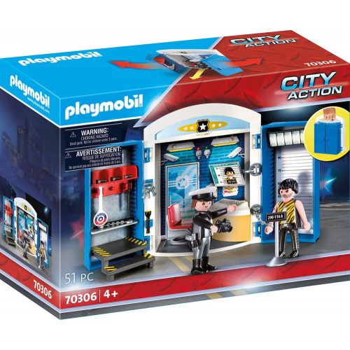 Playmobil 70306 Rendőrség játékdoboz (új)