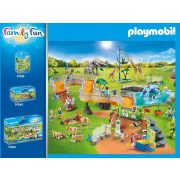 Playmobil 70348 Nagy állatkert kiegészítő készlet (új)