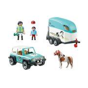 Playmobil 70511 Terepjáró pónilószállítóval (új)