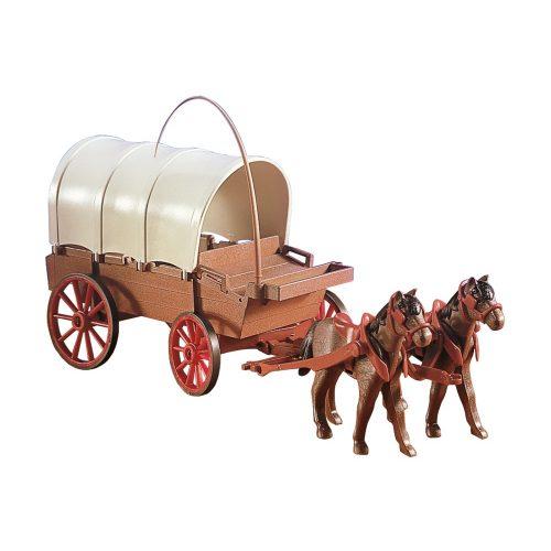 Playmobil 7648 Ponyvás lovaskocsi (új)