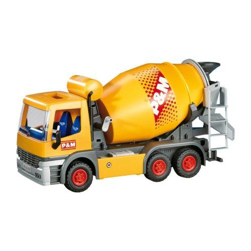 Playmobil 7932 Építkezés betonkeverő autó (új)