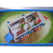 Playmobil 9041 Roncalli cirkuszi lakókocsi traktorral (új)