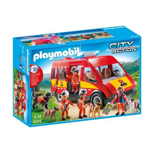 Playmobil 9125 Mentőegység kutyákkal K-9 osztag (új)