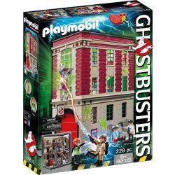 Playmobil 9219 Szellemirtók tűzoltóállomása (új)