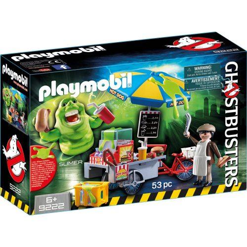 Playmobil 9222 Slimer hot dog standdal (új)