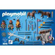 Playmobil 9341 Törpék vontatható dárdavető géppel (új)