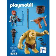 Playmobil 9343 Törpe hordozó troll (új)