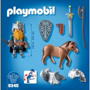Playmobil 9345 Törpe és pónija (új)