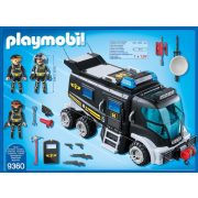 Playmobil 9360 TEK rendőrségi rohamkocsi (új)