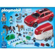 Playmobil 9376 Porsche Macan GTS lószállítóval (új)