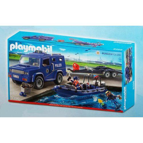 Playmobil 9396 Rendőrautó és hajó (új)