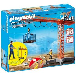 Playmobil 9399 Óriás RC távirányítós daru (új)