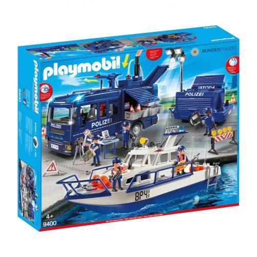 Playmobil 9400 Mega rendőrségi készlet (új)