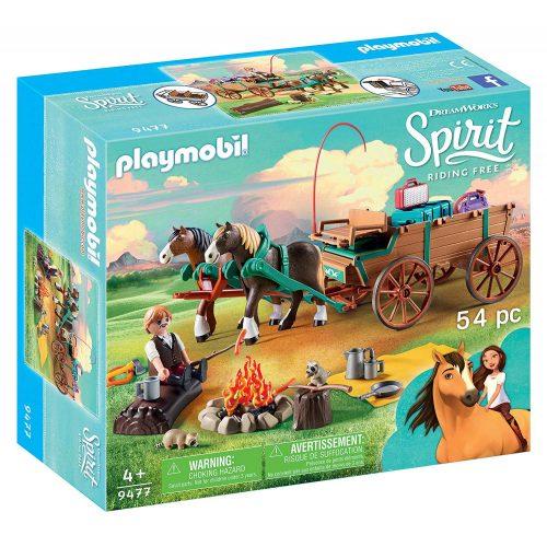 Playmobil 9477 Spirit - Lucky apukája szekéren (új)