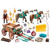 Playmobil 9477 Spirit - Lucky apukája szekéren