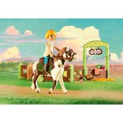 Playmobil 9480 Spirit - Abigail & Boomerang (új)