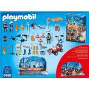 Playmobil 9486 Tűzvédelmi építési helyszín Adventi Kalendárium (új)