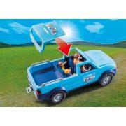 Playmobil 9502 Pick-up lakókocsival (új)