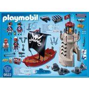 Playmobil 9522 Kalóz készlet világítótoronnyal és vitorlás kalózhajóval (új)