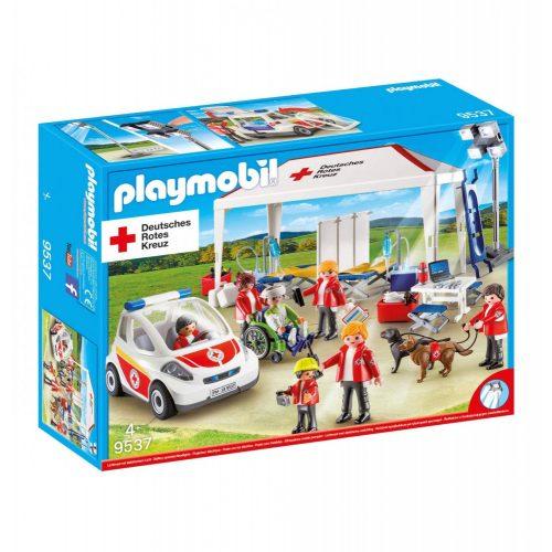 Playmobil 9537 Vöröskeresztes kórházi sátor autóval (új)