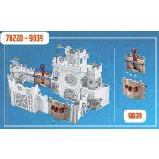 Playmobil 9839 Novelmore vár (70220) várfal kiegészítő készlet katapulttal (új)