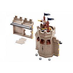 Playmobil 9840 Novelmore várfal és torony kiegészítő készlet dárdavetővel (új)