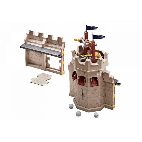 Playmobil 9840 Novelmore vár (70220) várfal és torony kiegészítő készlet dárdavetővel (új)