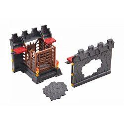 Playmobil 9841 Novelmore Burnham várfal és börtön kiegészítő készlet (új)