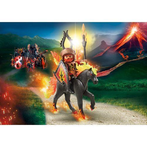 Playmobil 9882 Novelmore Burnham lovag tüzes paripán (új)