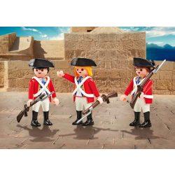 Playmobil 9886 3db-os angol katona csapat (új)