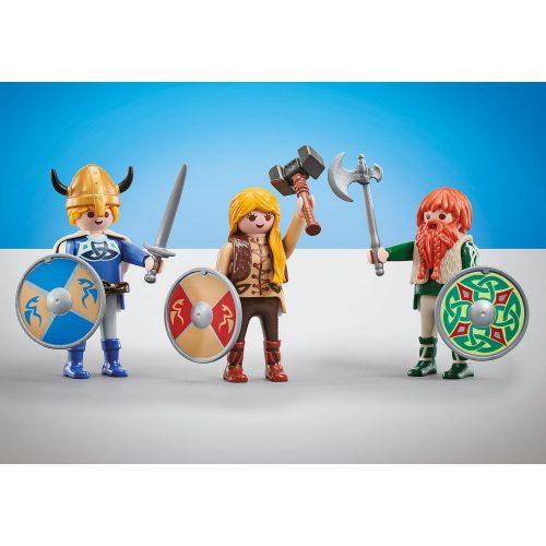 Playmobil 9893 3db-os Viking harcos csapat (új)
