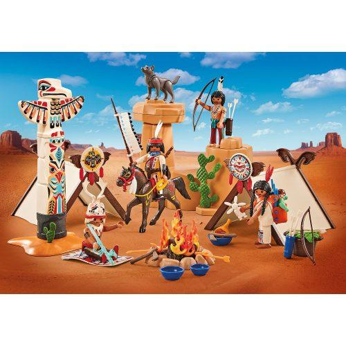 Playmobil 9899 Vadnyugati indián tábor (új)
