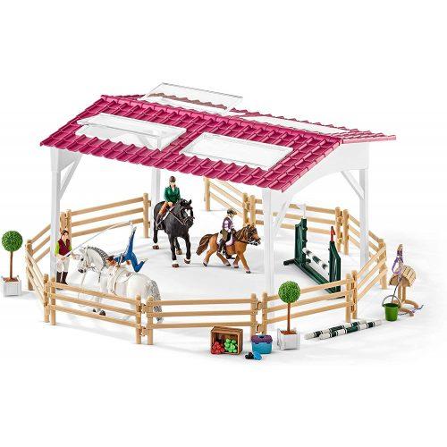 Schleich 42389 Lovasiskola lovakkal és lovasokkal (új)