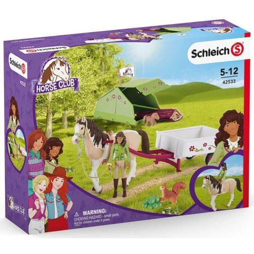 Schleich 42533 Sarah kempingezős kalandja (új)