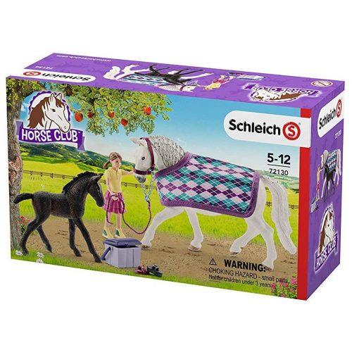 Schleich 72130 Lipicai lovak lánnyal (új)